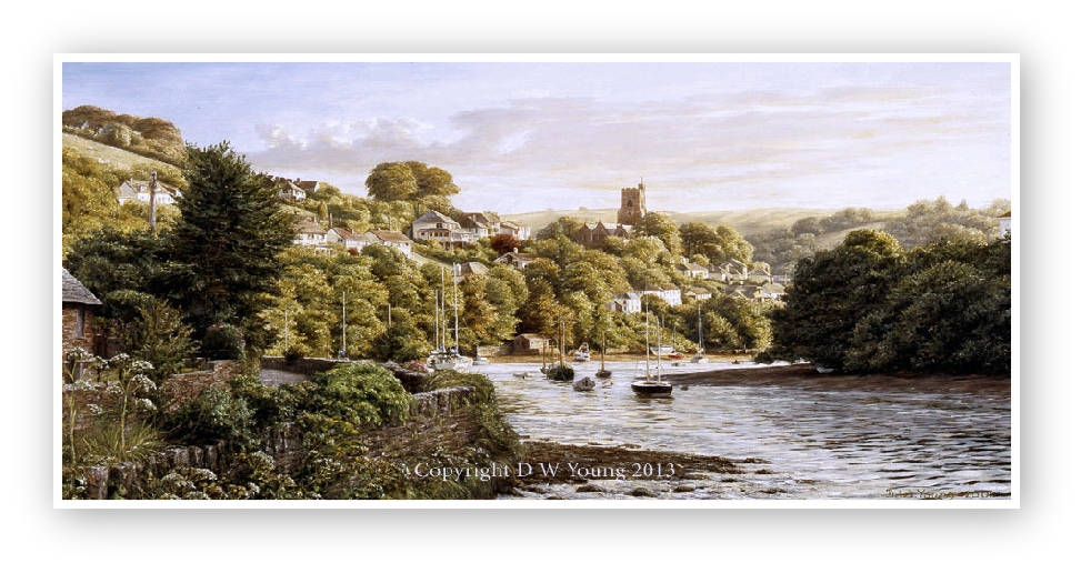 Noss Mayo, Newton Creek enlargement