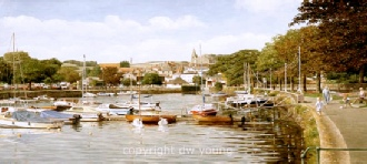 prints kingsbridge south devon south hams coast david young paintings