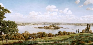 prints plymouth sound from mount edgcumbe david young paintings